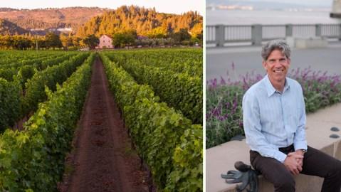 Kevin Morrisey, winemaker at Ehlers Estate