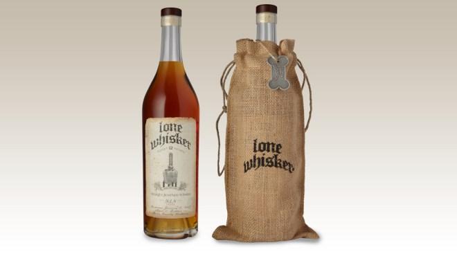 Lone Whisker bourbon