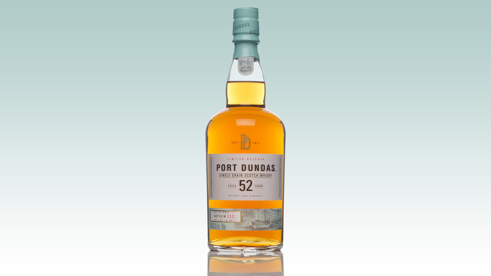 Port Dundas 52 year old whisky