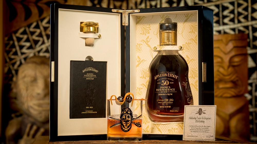 rare Appleton Estate rum