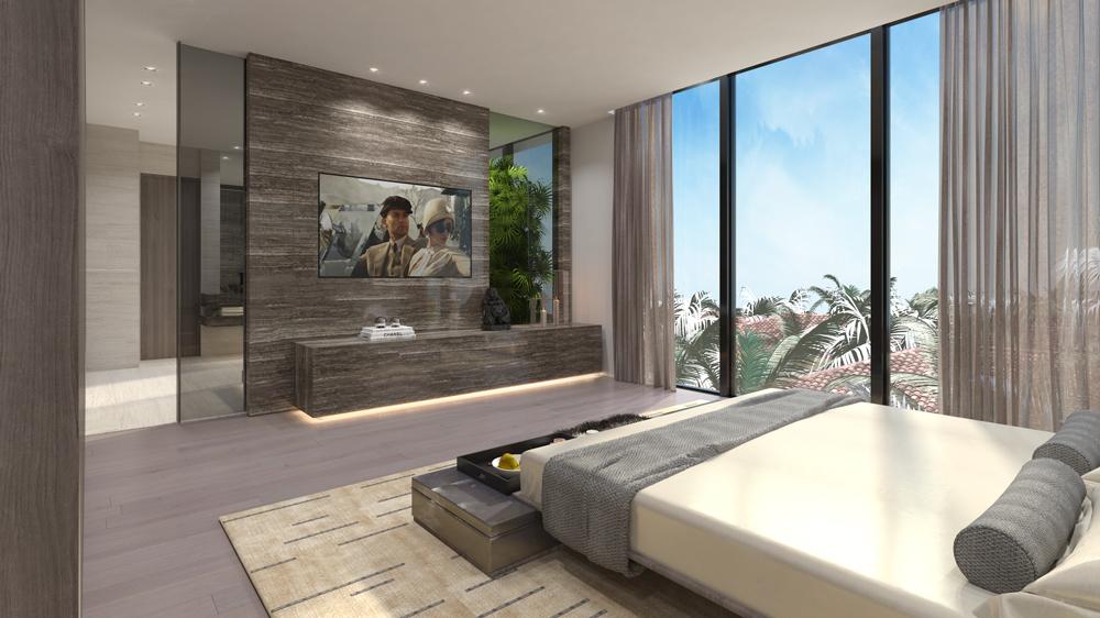 new construction home in Miami Beach, Florida