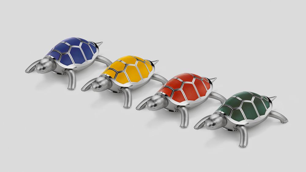 MB&F Kelys & Chirp autonomous turtle