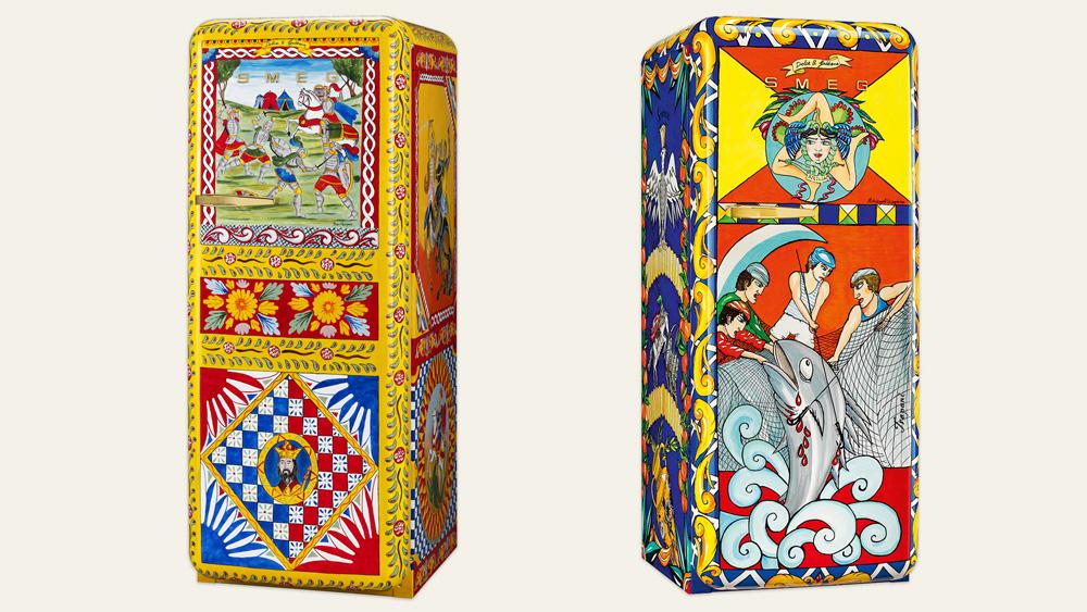 Dolce & Gabbana Smeg Refrigerator