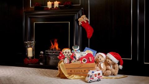 Grosvenor House Suites Christmas toys