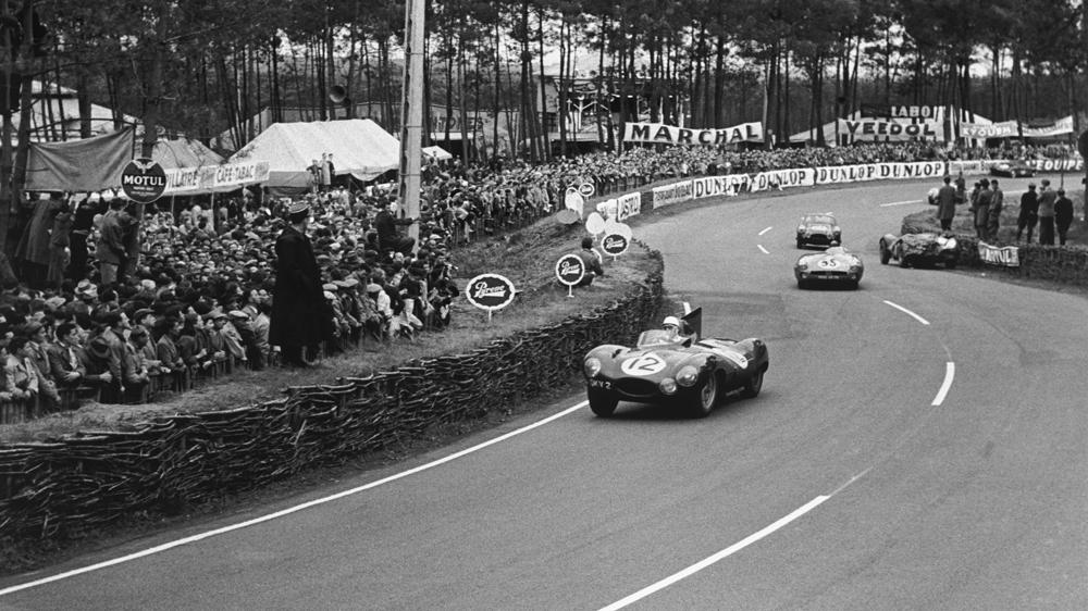1954 Jaguar D-Type Le Mans Stirling Moss