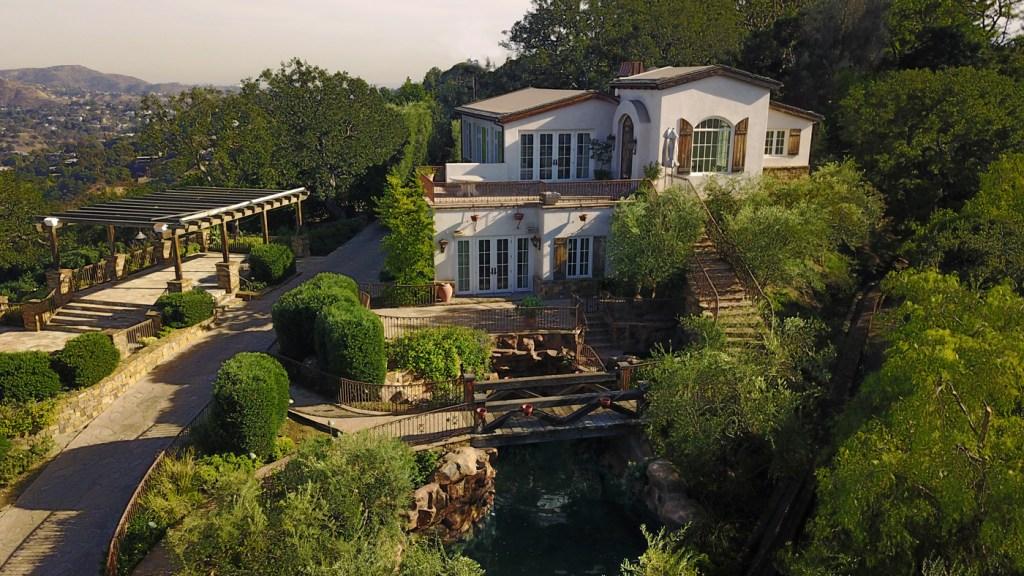 European-style estate owned by Eva Longoria.