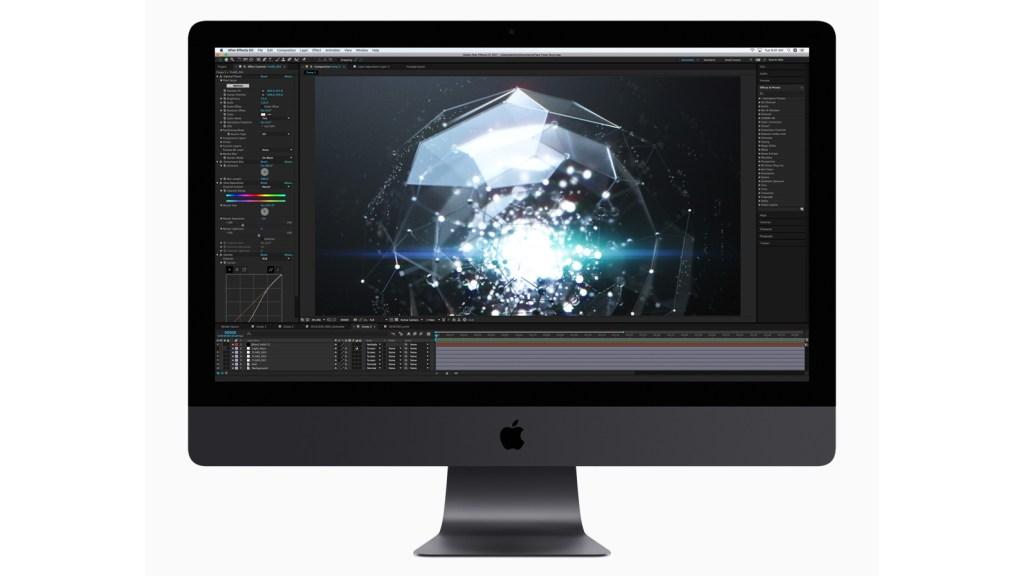 Apple iMac Pro retina 5k graphics