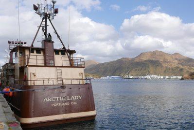 arctic lady crab ship