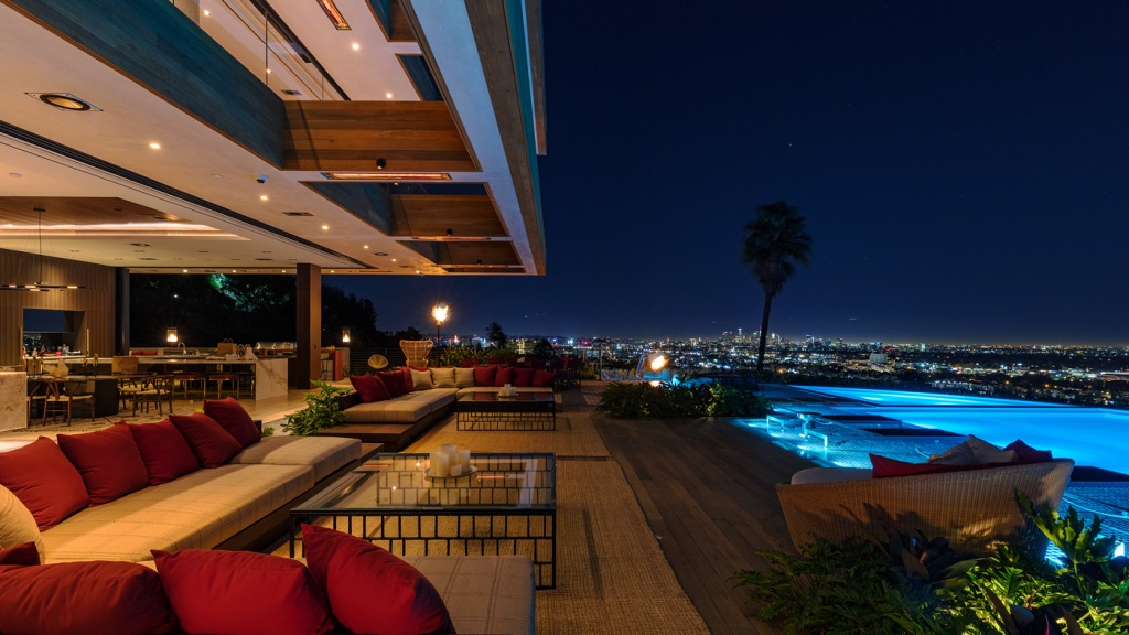 home with interiors by Lenny Kravitz in Los Angeles