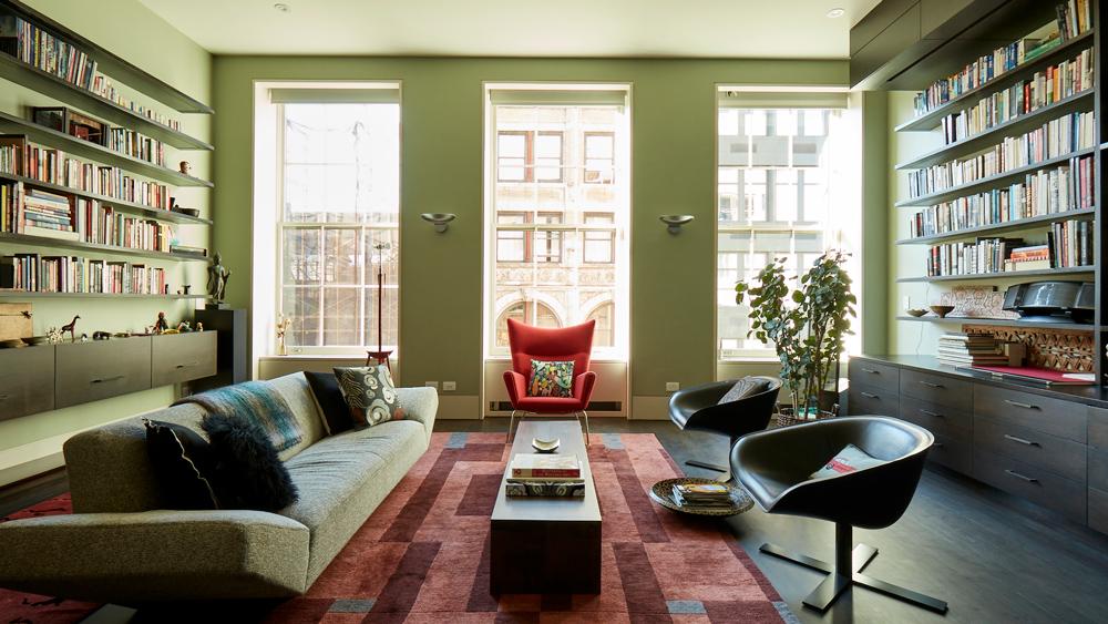 triplex penthouse in SoHo neighborhood in New York City