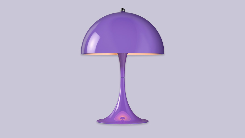 Louis Poulsen Panthella Mini lamp in violet