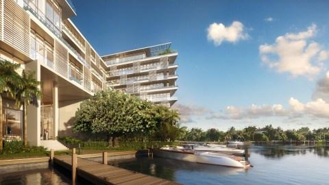 Ritz-Carlton Residences, Miami Beach helicopter helipad marina