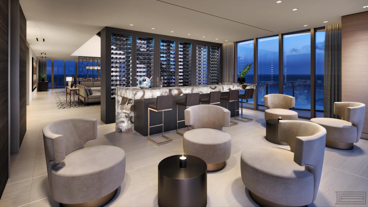 Luxury penthouse in Sunny Isles Beach, Florida