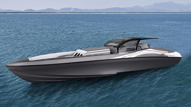 Midnight Express 60 Pied-A-Mer Day Boat