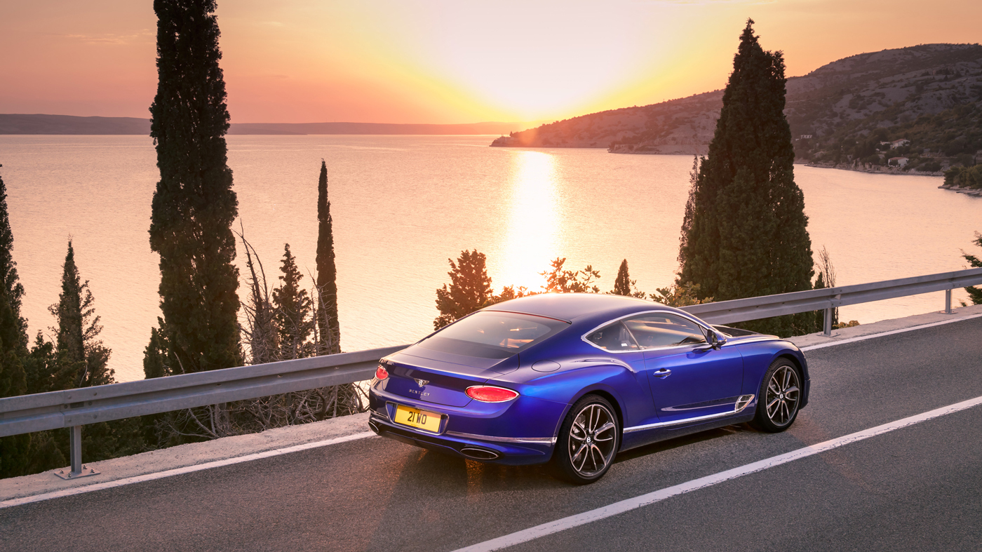 The Bentley Continental GT.