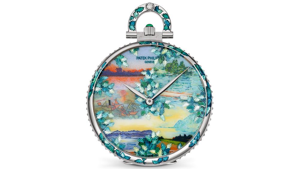 Anita Porchet's designs pocket watch