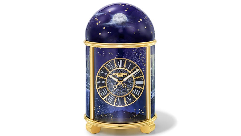 dome clock by Anita Porchet