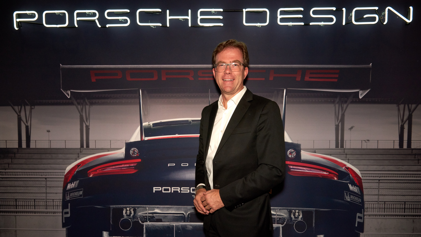 Doctor Jan Becker, chief executive officer of Porsche Design.