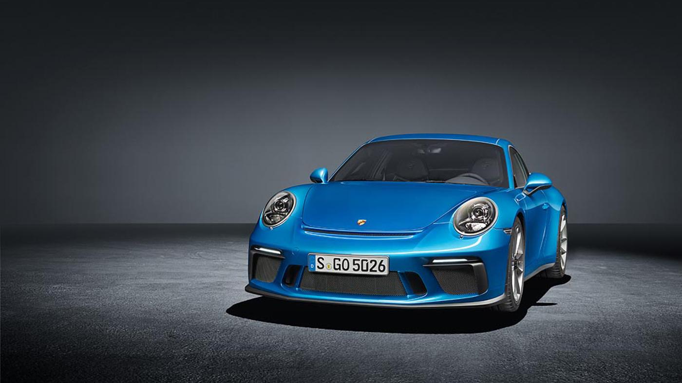 The Porsche 911 GT3 Touring.