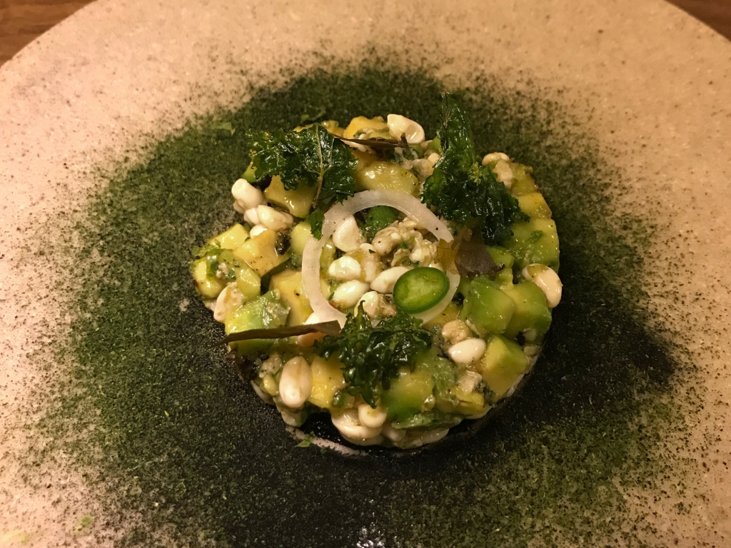 charred avocado tartare