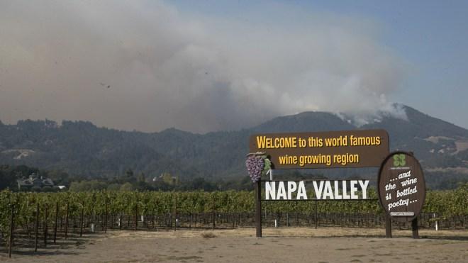 Napa & Sonoma wildfires