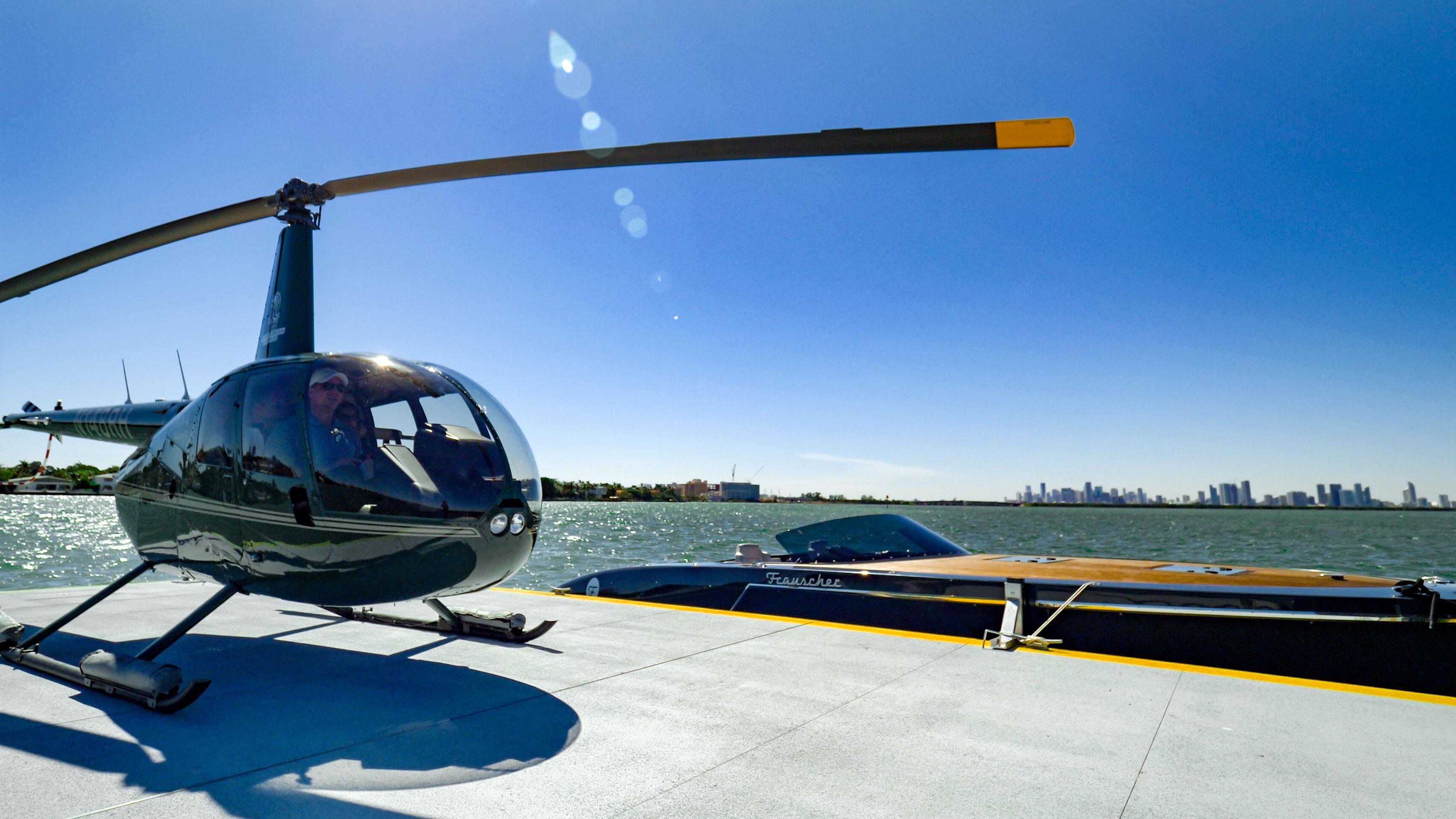 Ritz-Carlton Residences, Miami Beach helicopter helipad