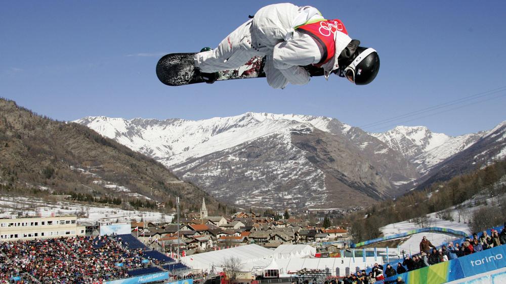 Shaun White at the Turin Olympics