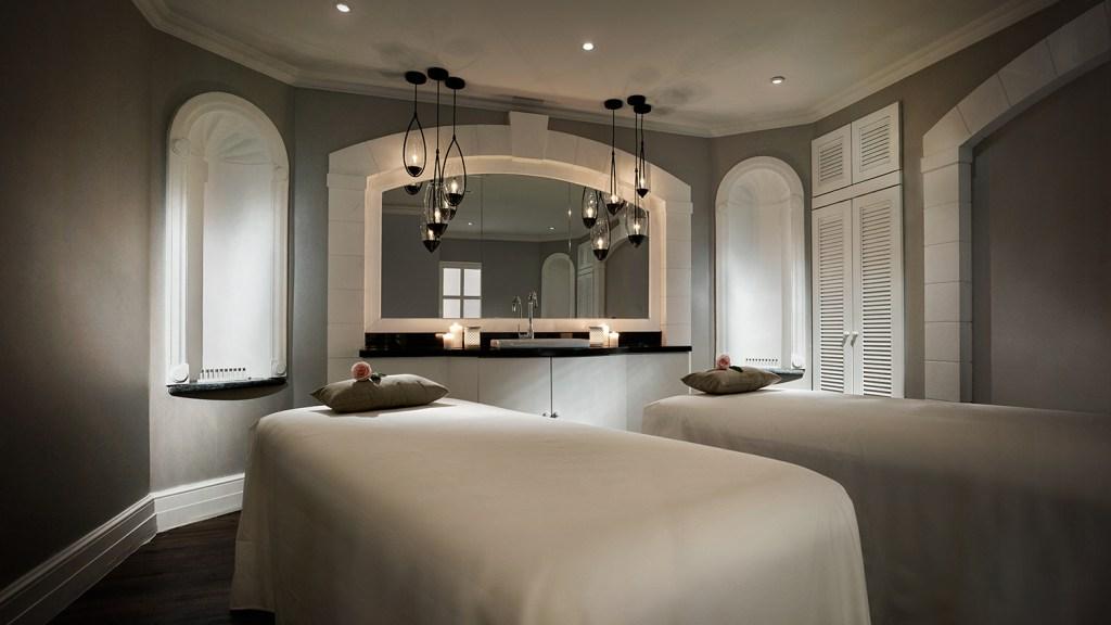 spa treatment room at hotel in Kuala Lumpur