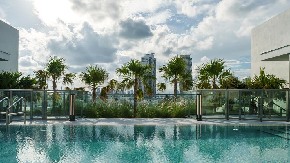 Boutique condominium with luxury units in Miami Beach