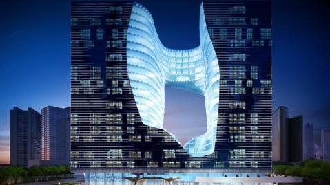 Zaha Hadid Dubai hotel