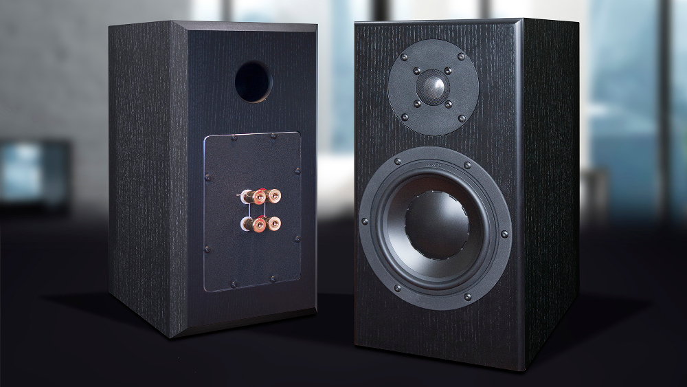Totem Signature One bookshelf speakers black