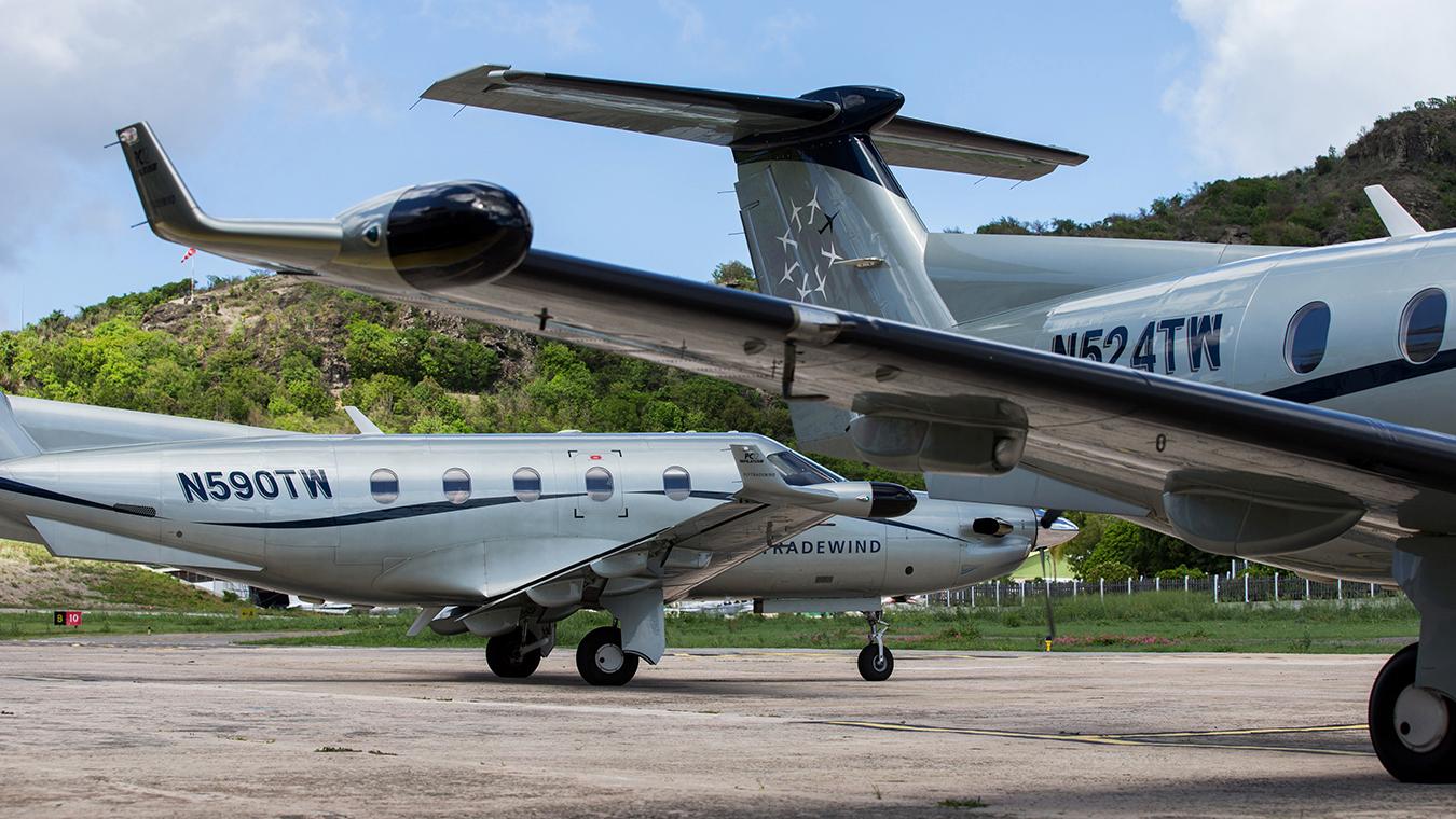 Tradewind Aviation St. barts caribbean