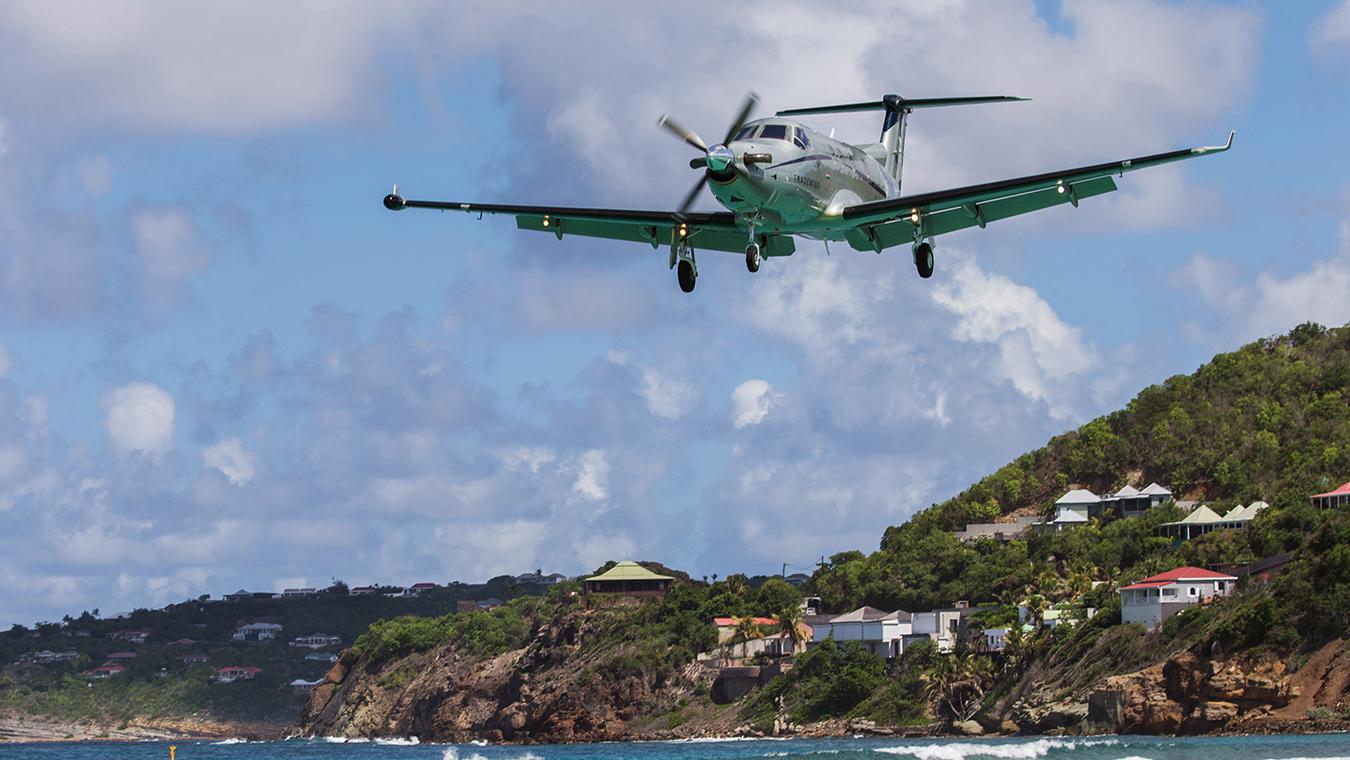 Tradewind Aviation st barts caribbean