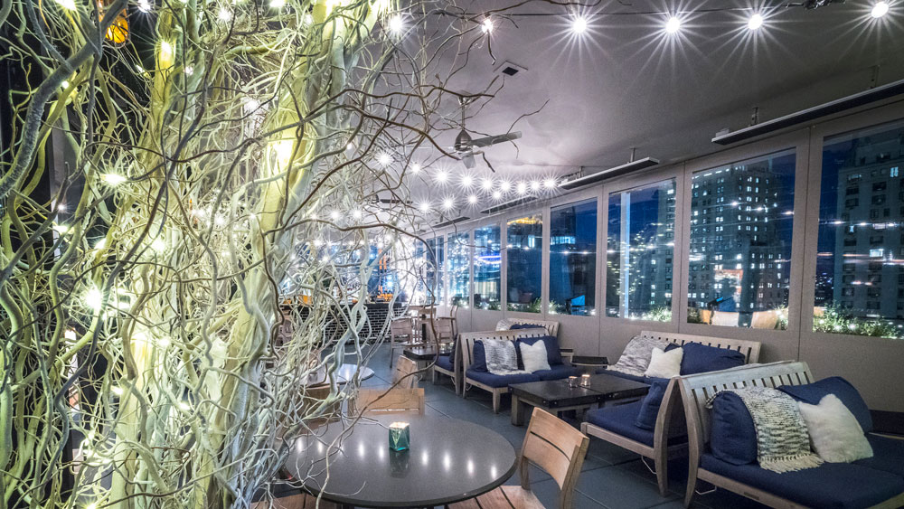 Winter Room at The Roof, Viceroy New York