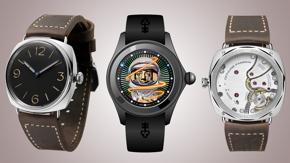 Corum and Panerai Watches