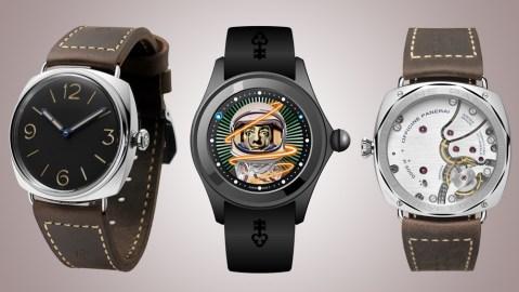 Corum and Panerai Watches