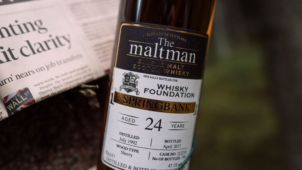 Whisky Foundation The Reserve