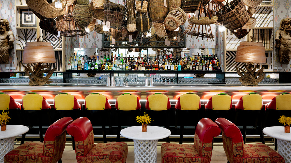 The Whitby Hotel bar
