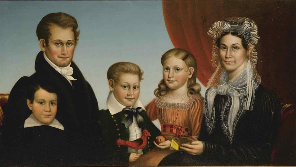 Deacon Robert Peckham painting