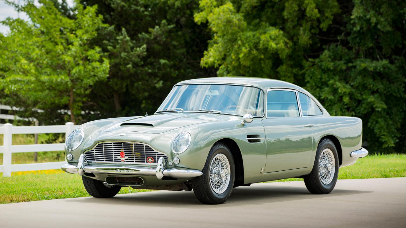 A 1966 Aston Martin DB5.