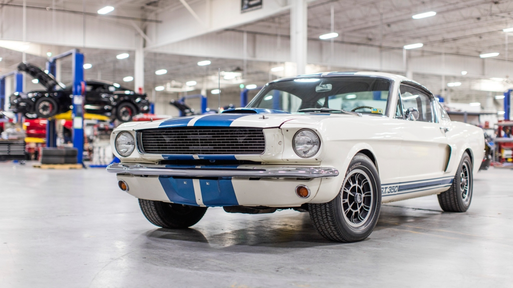 The Shelby GT350H Fastback once owned by Carroll Shelby.