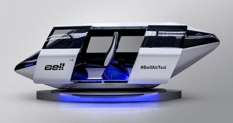 Bell Helicopter Air Taxi concept CES
