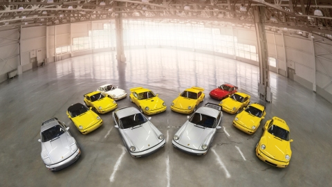 The Porsche 964 Collection being offered at the RM Sotheby's 2018 Amelia Island Sale.