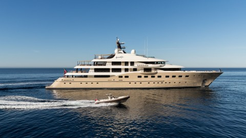 Dutch superyacht Amels Here Comes the Sun megayacht