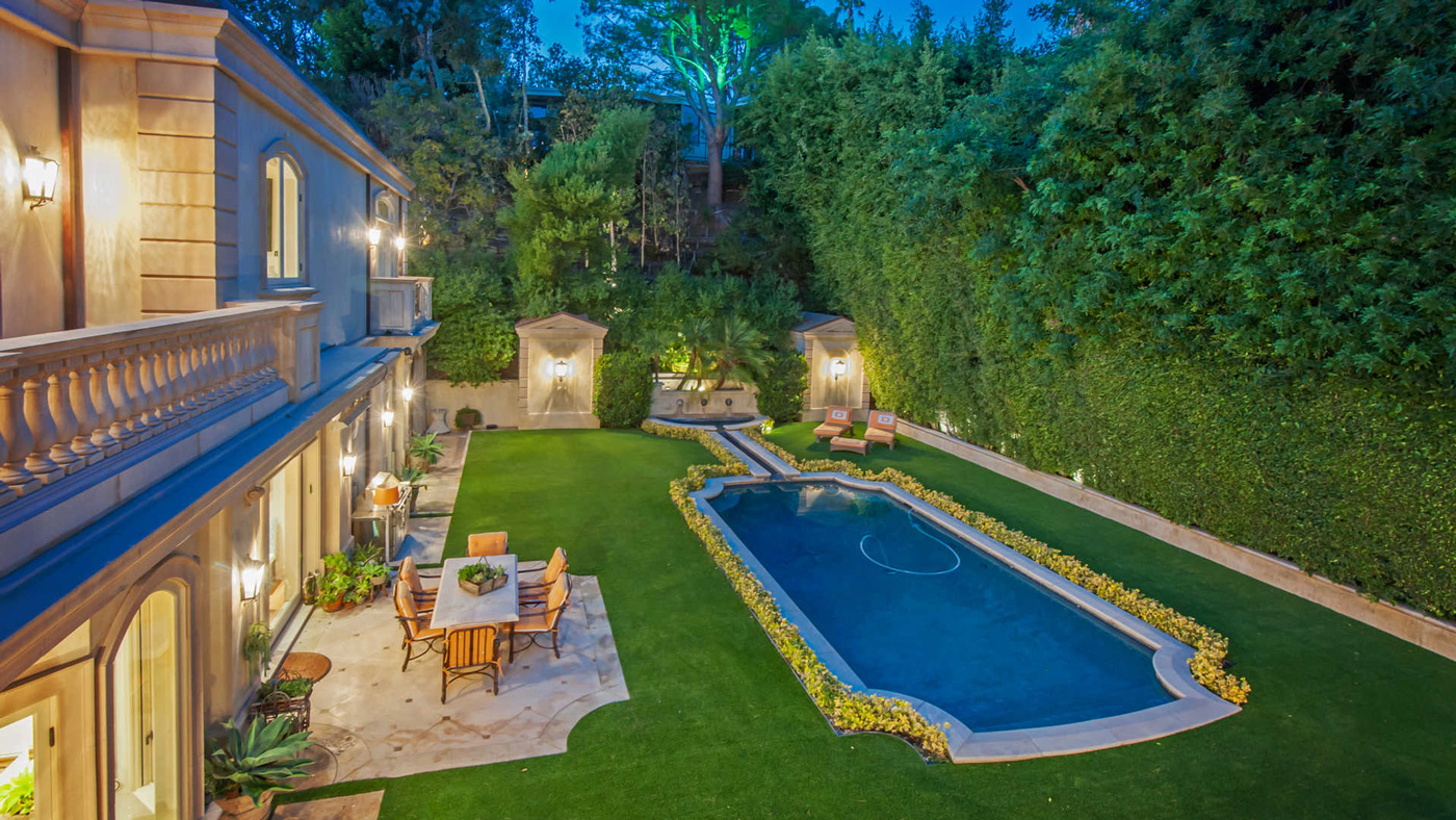 French Villa in Beverly Hills