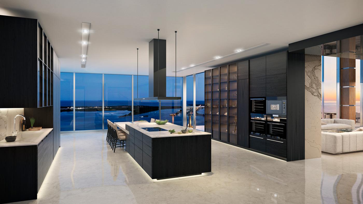 Carlos Ott Penthouse at Echo Brickell in Miami