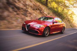 Alfa Romeo Giulia Quadrifoglio at Robb Report Car of the Year