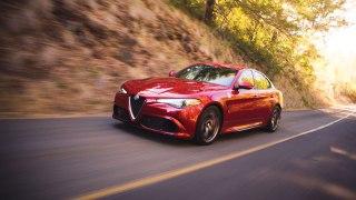 Alfa Romeo Giulia Quadrifoglio at Robb Report Car of the Year