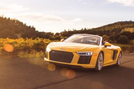 Audi R8 V10 Spyder at Robb Report Car of the Year