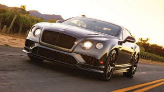 Bentley Continental Supersports at Robb Report Car of the Year